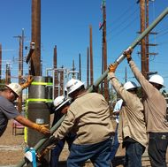 Installing a Pole