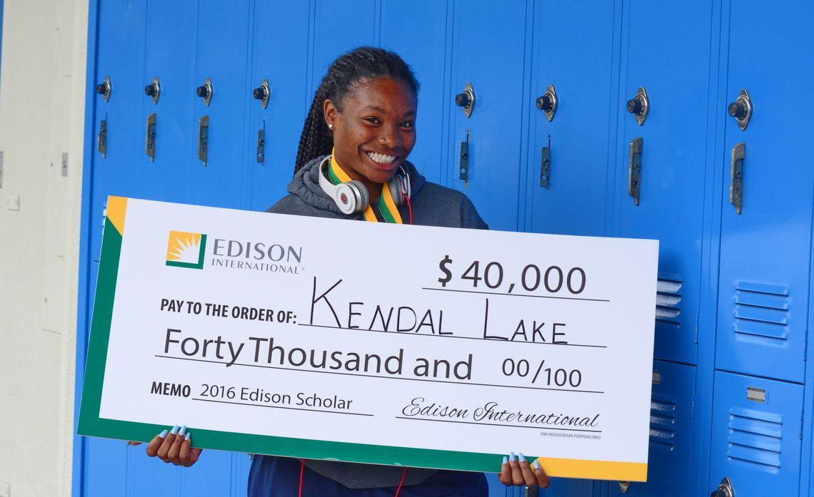 Edison Scholars - Kendal Lake