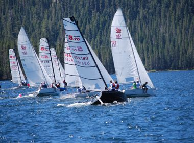 Rain, Snow Revive the High Sierra Regatta This Year