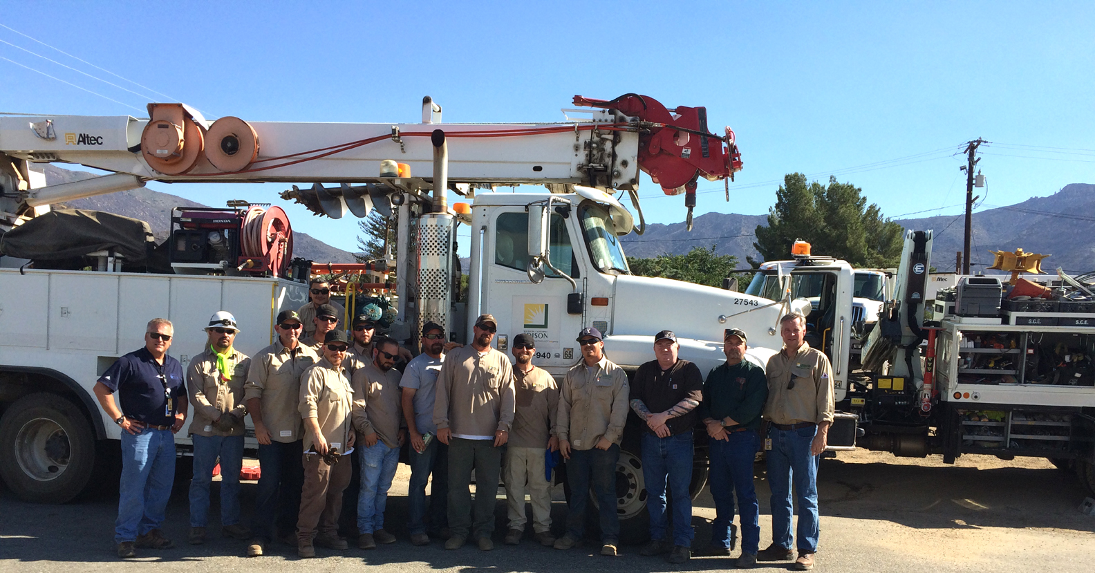 SCE crews in Kern Valley