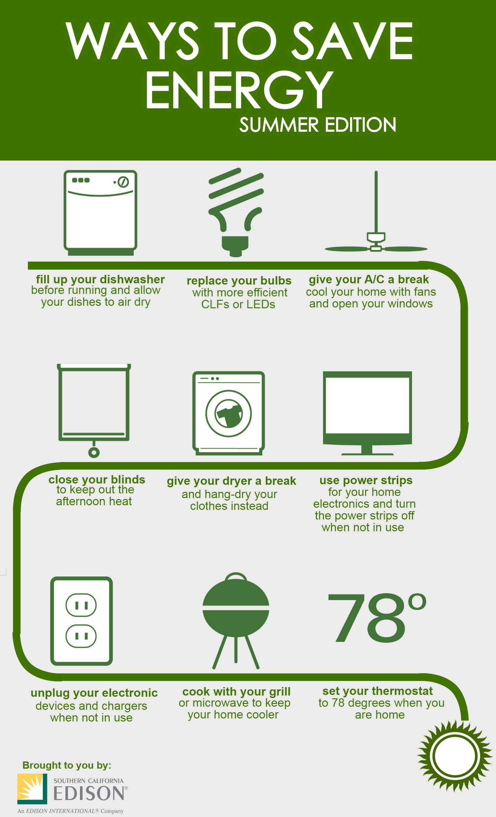 9 ways to save energy this summer inside edison