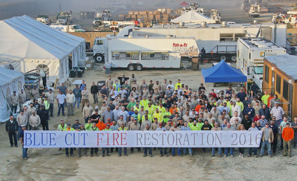 SCE's Major Wildfire Response