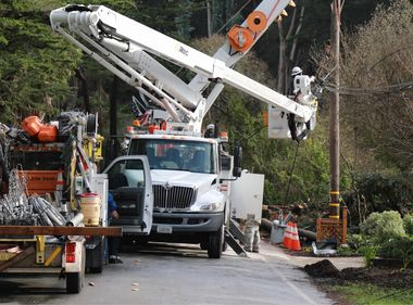 PHOTOS: SCE Crews Mobilize for SoCal Rains as Record Storms Continue to Pound Northern California