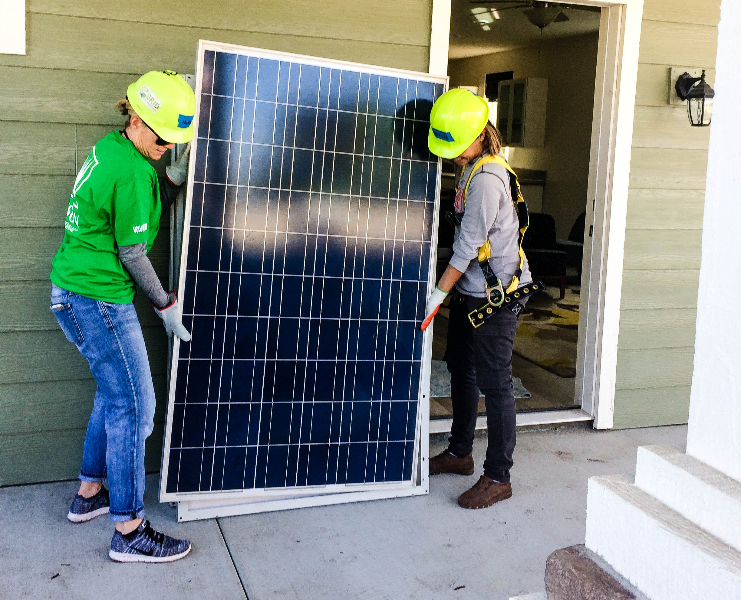 ABC Green Home Solar Volunteers