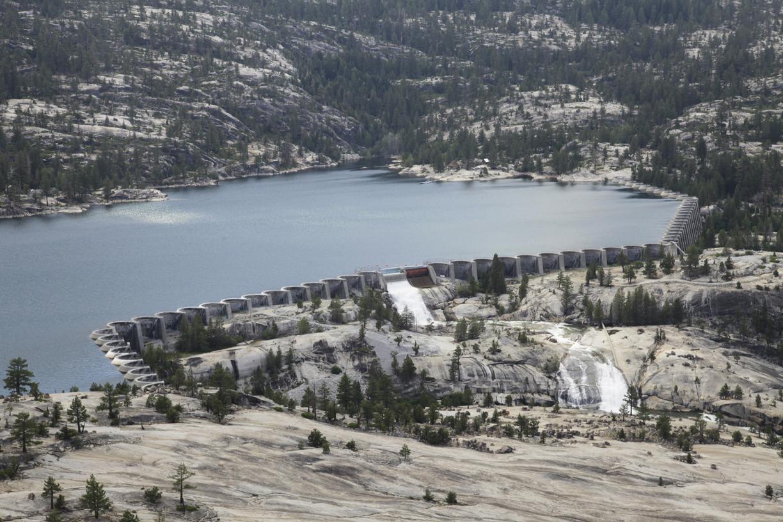 dam side e Florence Lake Dam_3895