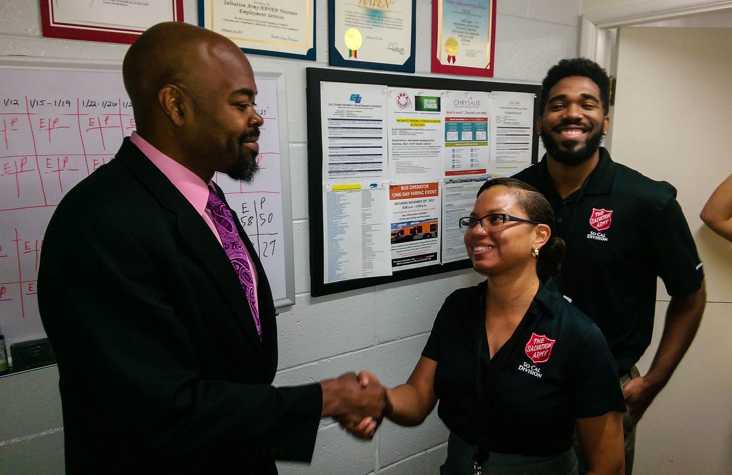 Salvation Army Program Helps Veterans Find Jobs, Get a New Start