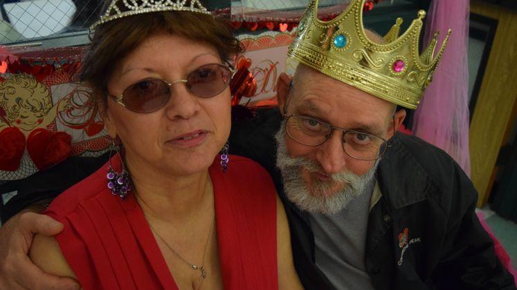 King and Queen, Valentine's dance at Garden Senior Center