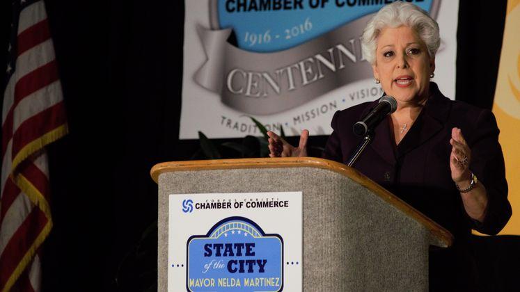 Mayor Nelda Martinez Delivers State of the City 2016