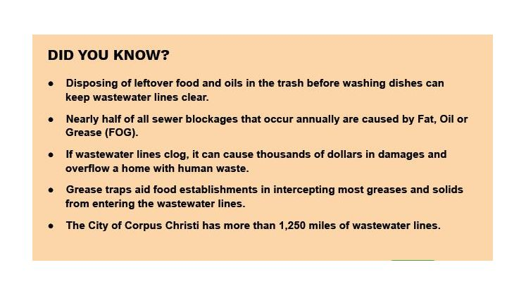 FOG Did you know