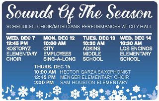 2016 Holiday Choir Performances