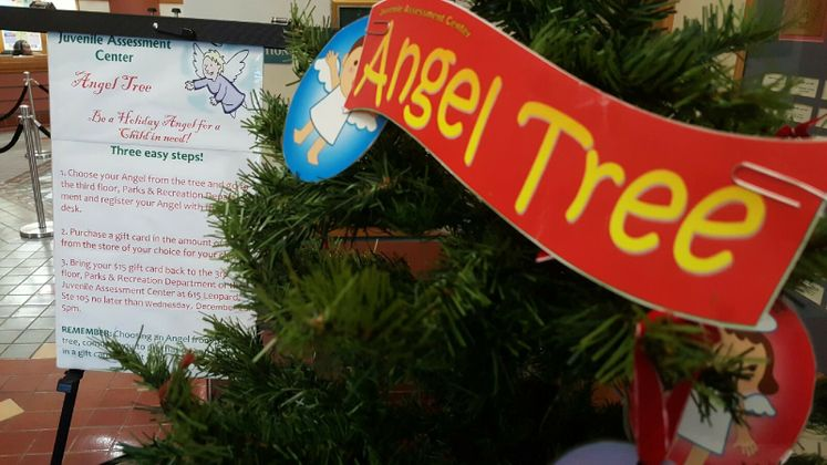 Angel Tree at City Hall