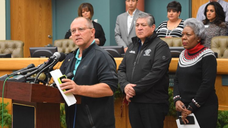 City Officials Updates on Water Situation