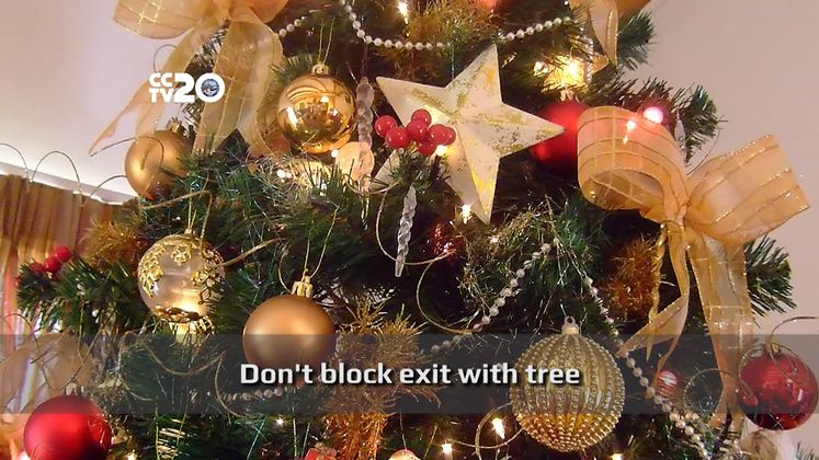 How to Prevent a Christmas Tree Fire