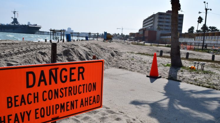 North Beach Re-nourishment Project