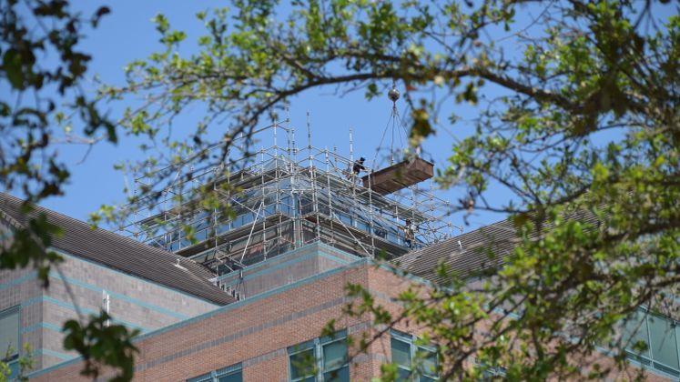 Skylight Work at City Hall