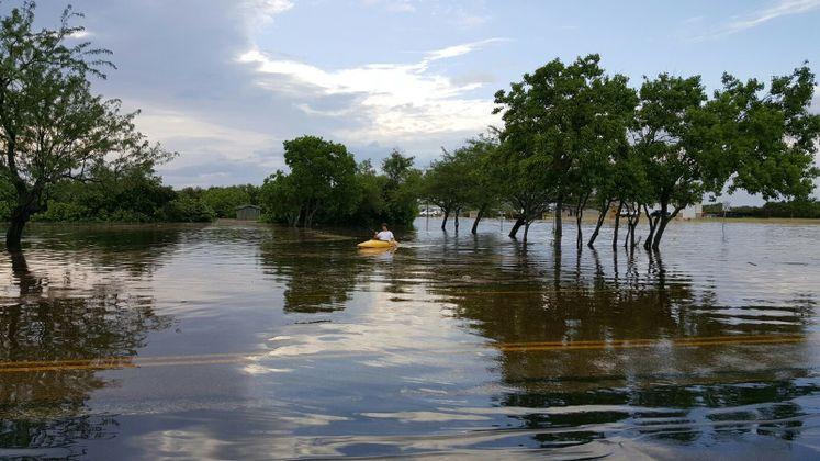 Parts of Glenoak flooded after last night's rain event