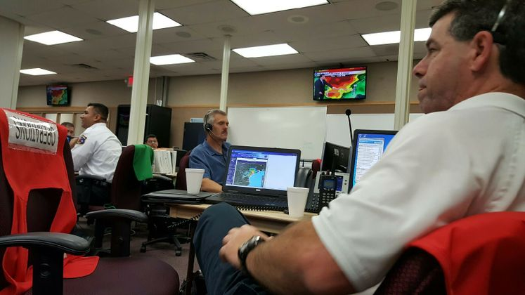 EOC Activated for Today's Rain Event
