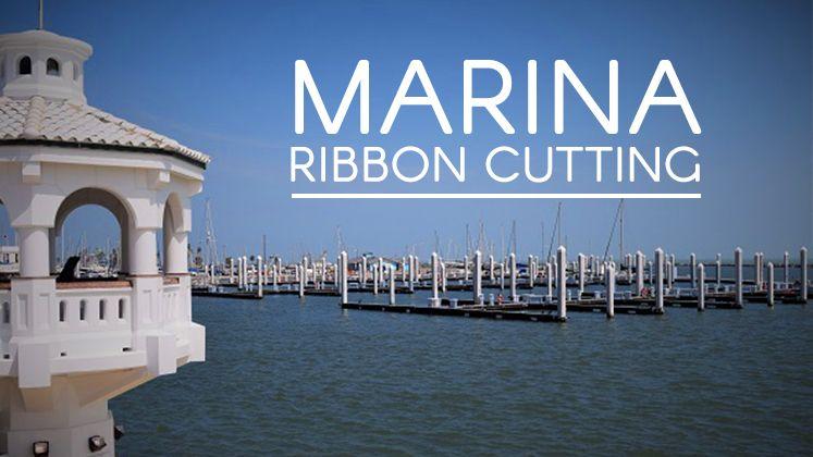 Marina Ribbon Cutting