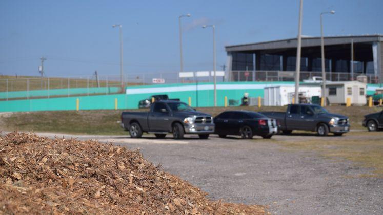 Mulch at J.C. Elliott Landfill