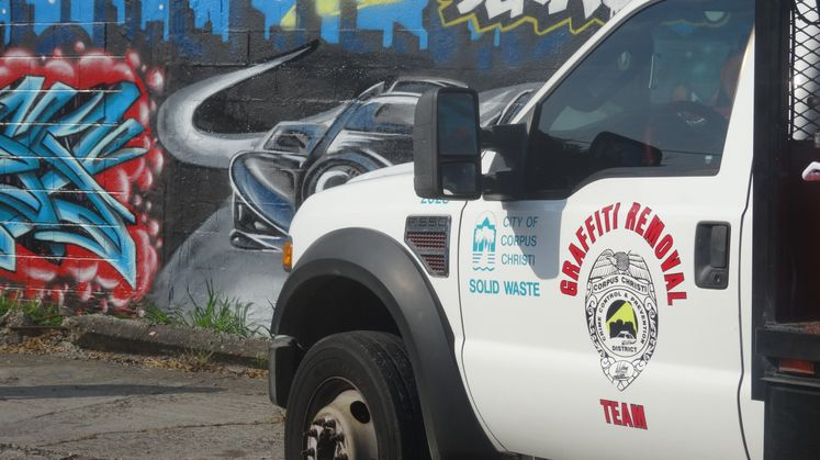Solid Waste Graffiti Removal Team