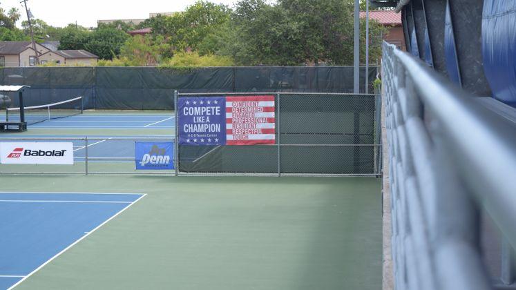 HEB Tennis Court Renovations 2008 BOND