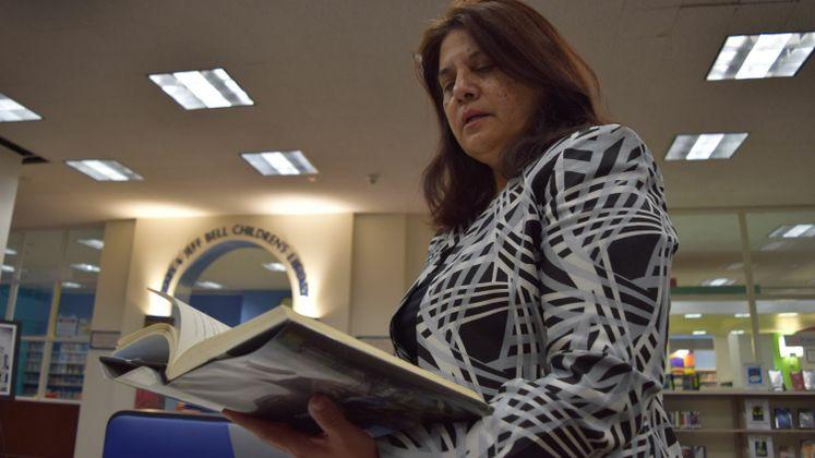 L. Garcia, Library Director.
