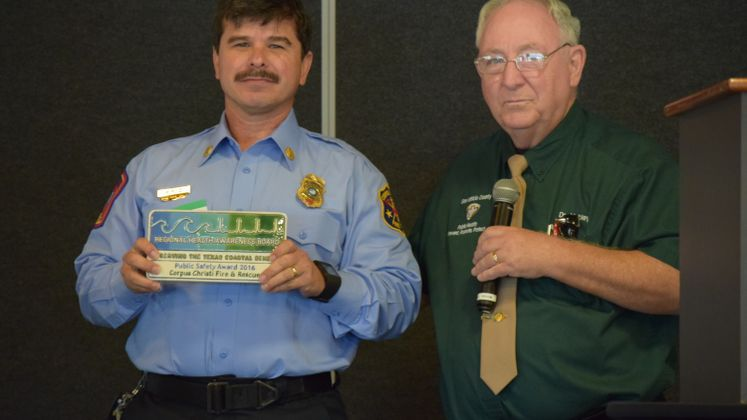Public Safety Award to CCFD for CPR High School Program