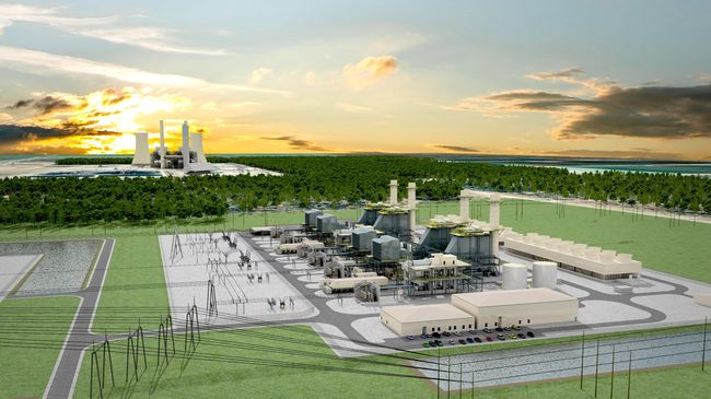 Get plugged into vendor opportunities with the Citrus County combined-cycle natural gas plant project