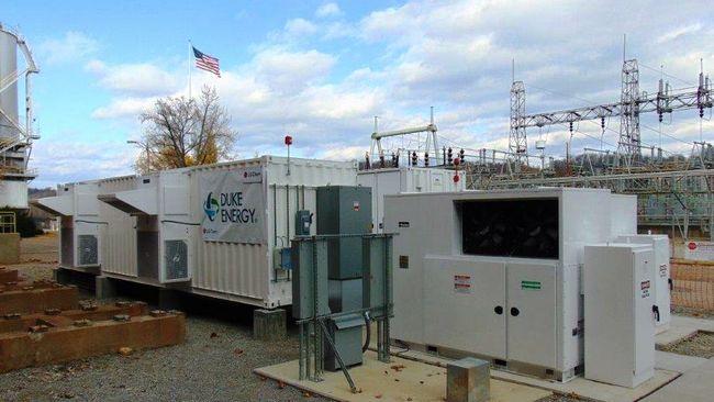 Batteries spring to life at retired Duke Energy coal plant
