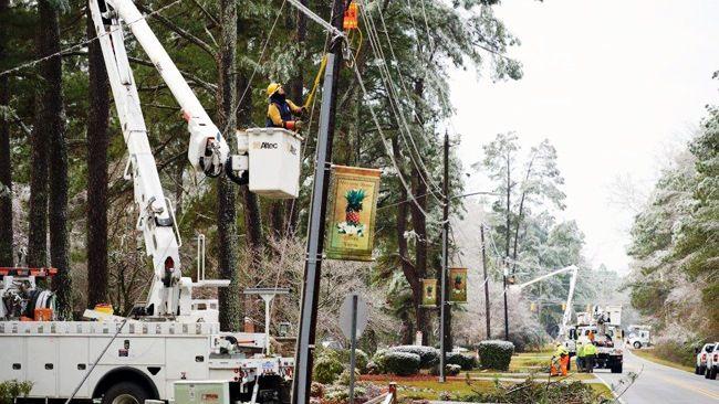 Duke Energy nears goal line Sunday in restoring power outages