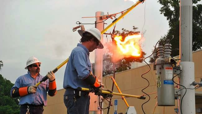Sparks will fly at Duke Energy's first responders storm season training