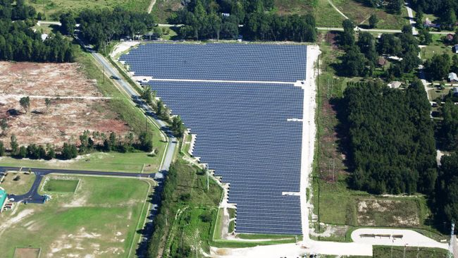 Duke Energy Perry Solar Facility is producing energy in the Sunshine State