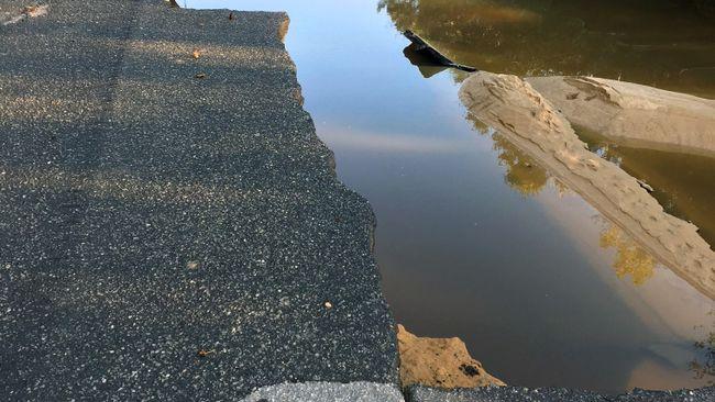 H.F. Lee Site Road Damage