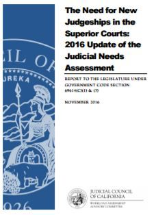 Judicial Needs Assessment