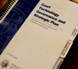 Court Technology Plan Cover