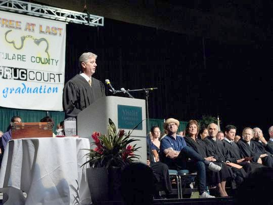 Tulare County Drug Court Graduation
