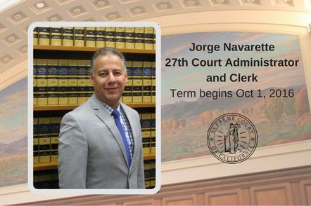 Supreme Court Clerk Jorge Navarette