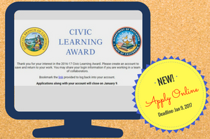 Civic Learning Awards Application