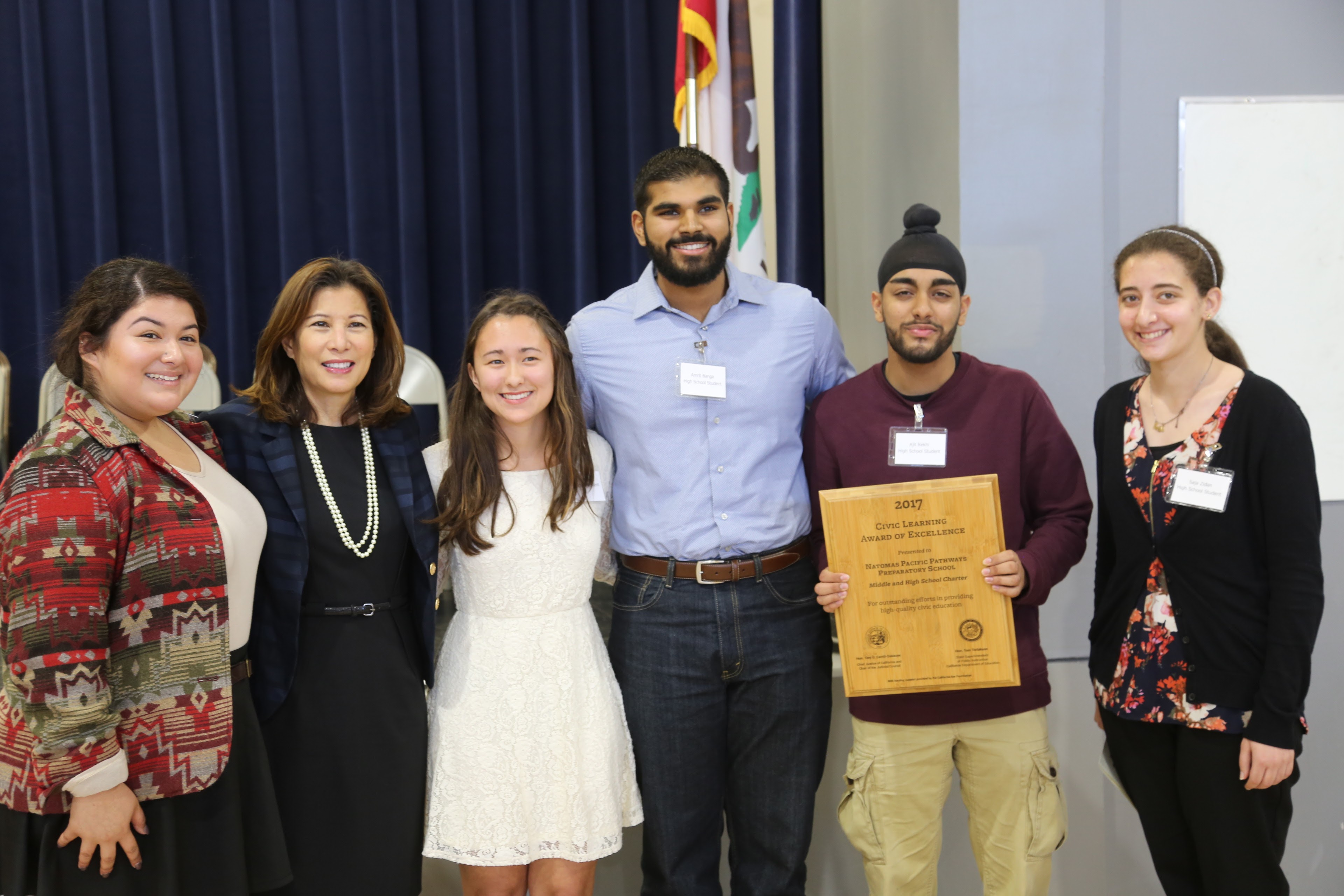 Civic Learning Award of Excellence 2017