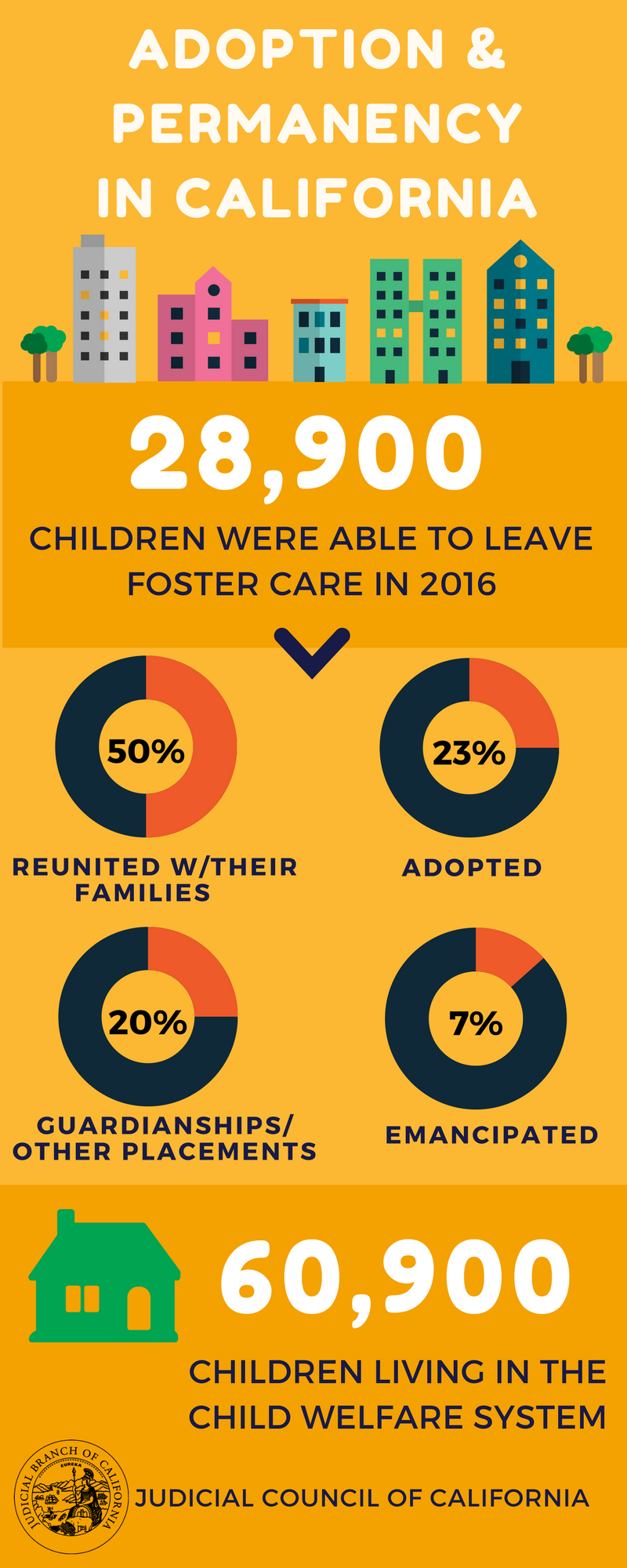 Adoption Month Infographic