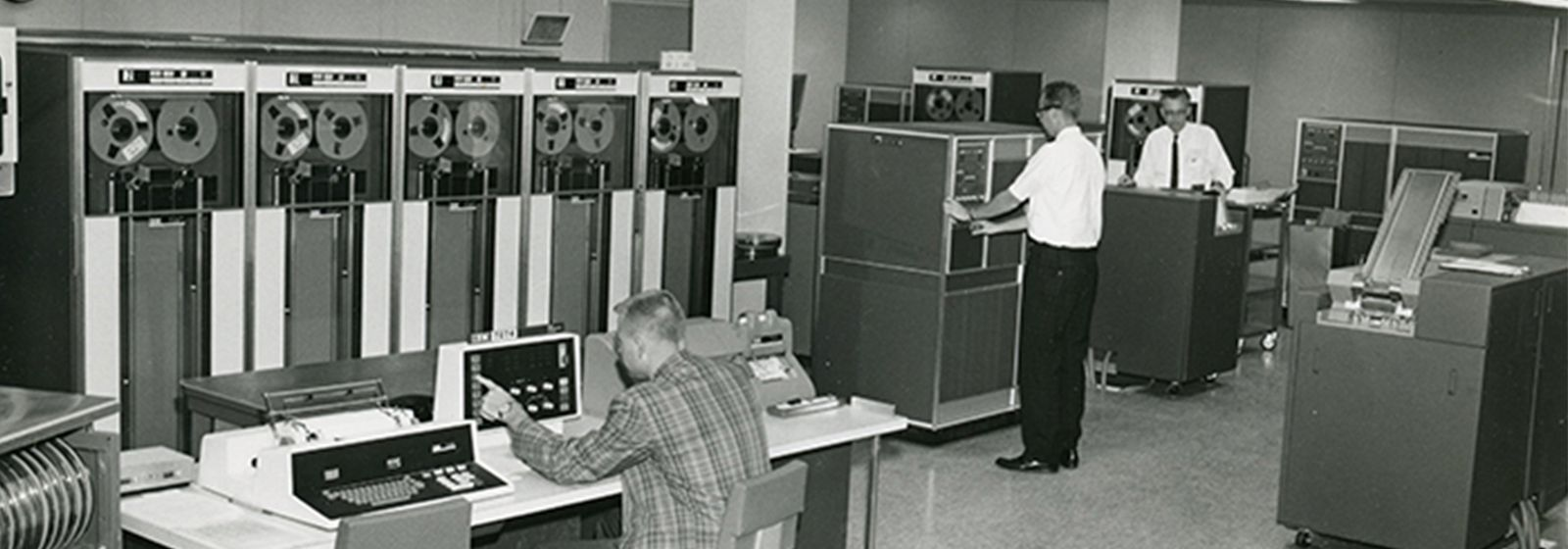 When high-tech computers needed a whole room