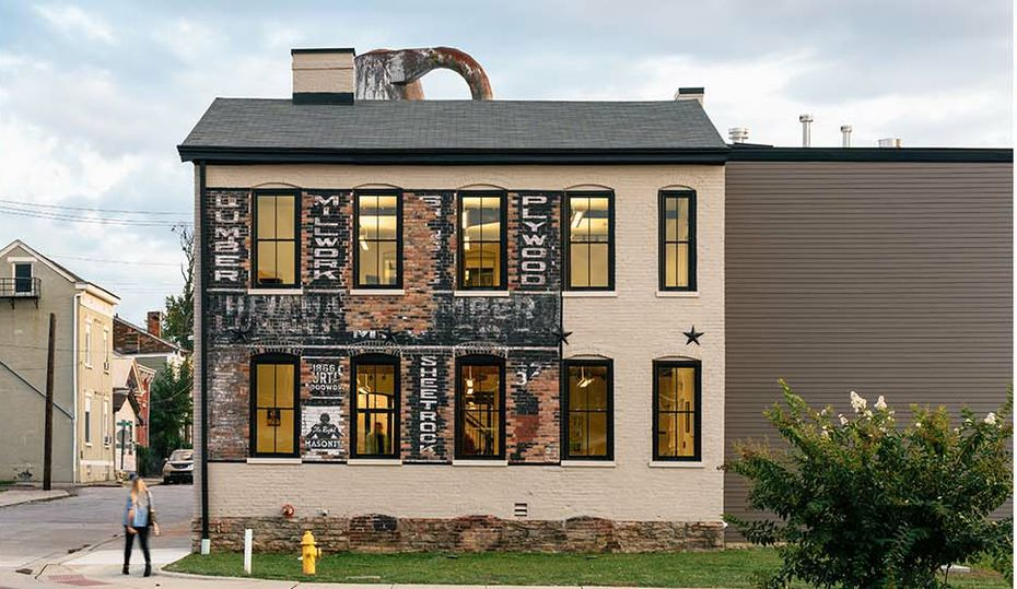Lumber mill reimagined as artist studios in Kentucky