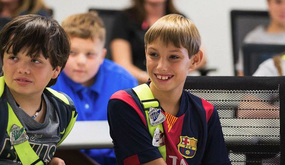 Her bright idea: field trips for fifth-graders