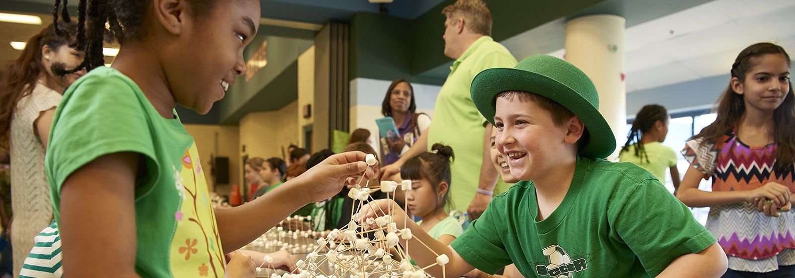 Video: Science night glows at elementary schools