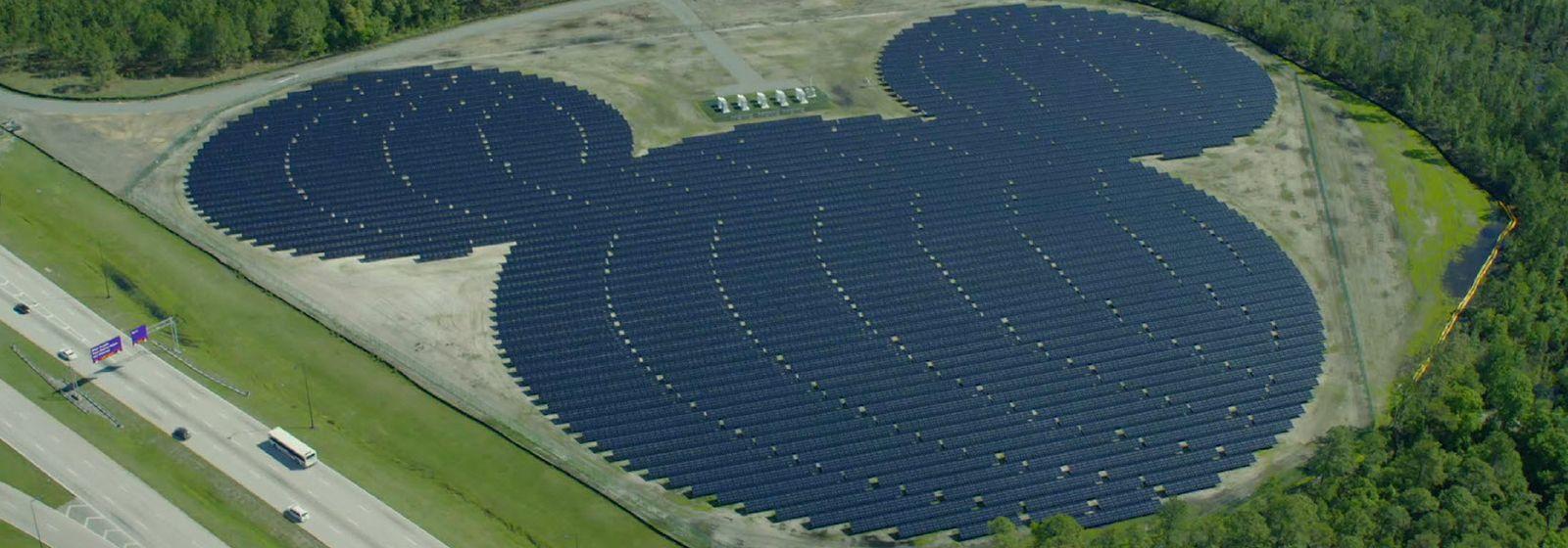 Solar takes shape at Walt Disney World