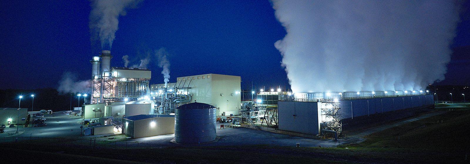 Full steam ahead at Buck power plant