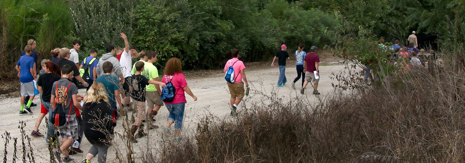 Slideshow: Students have fun learning about wetlands