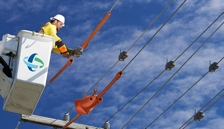 Video: A day in the life of a lineworker