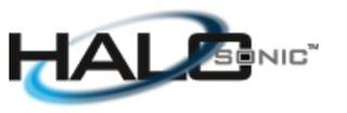 HALOsonic logo