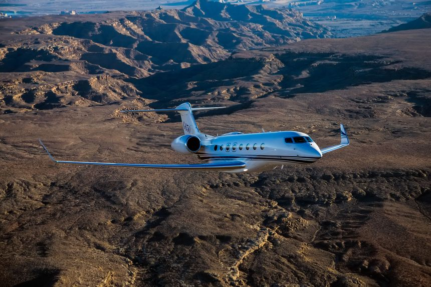 G650ER Connects Sydney to Los Angeles